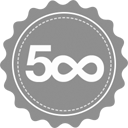 500px icon small