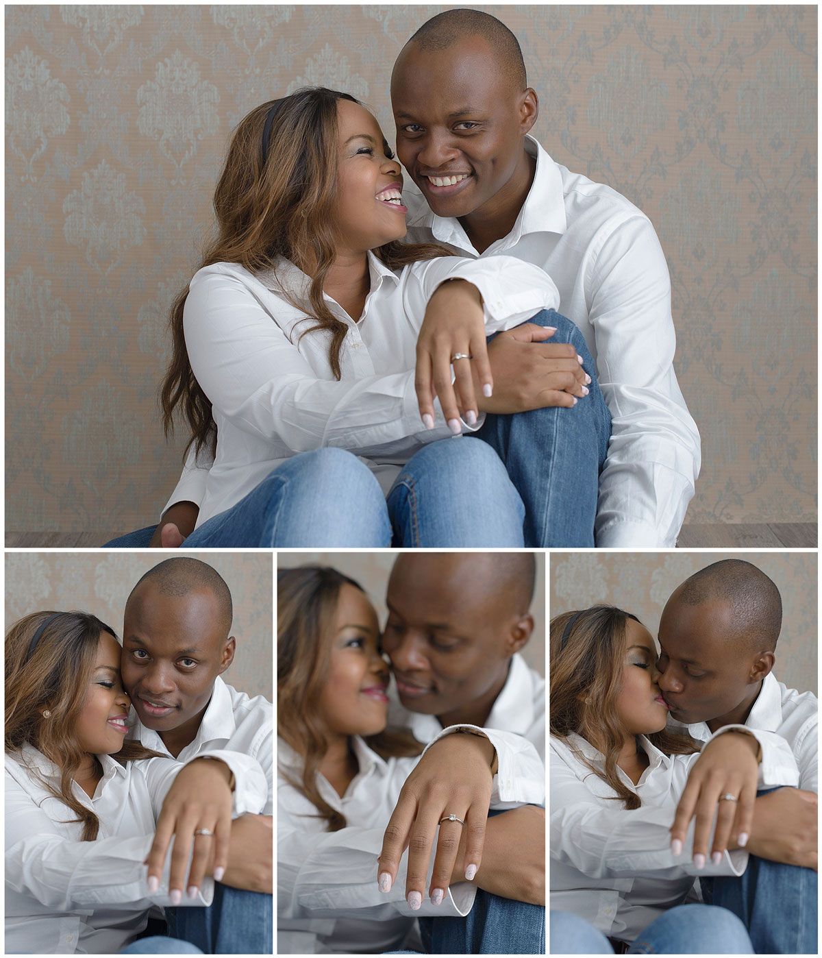 Studio Engagement Photography Ideas Nelspruit