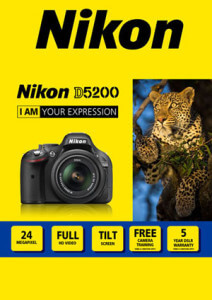 Nikon D5200 Kit Artwork
