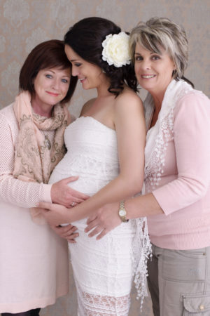 Styled Maternity Photo Studio