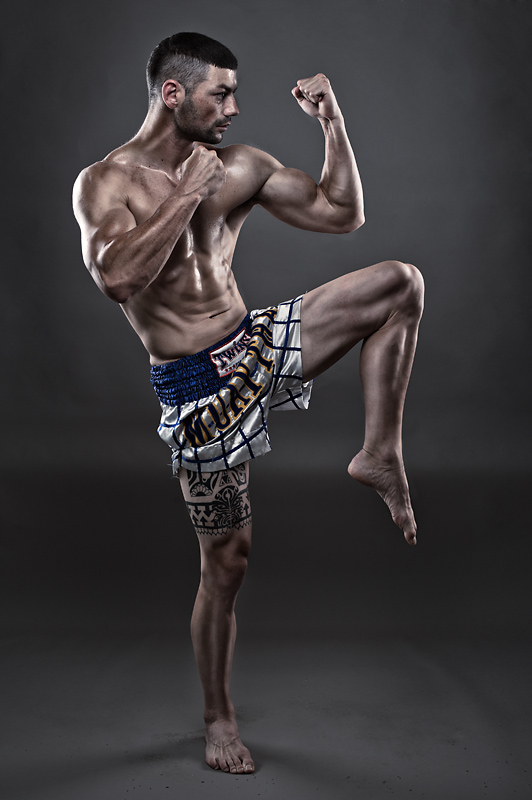 Fitness Photography Pretoria Nelspruit MMA fighter Andrew van Niekerk