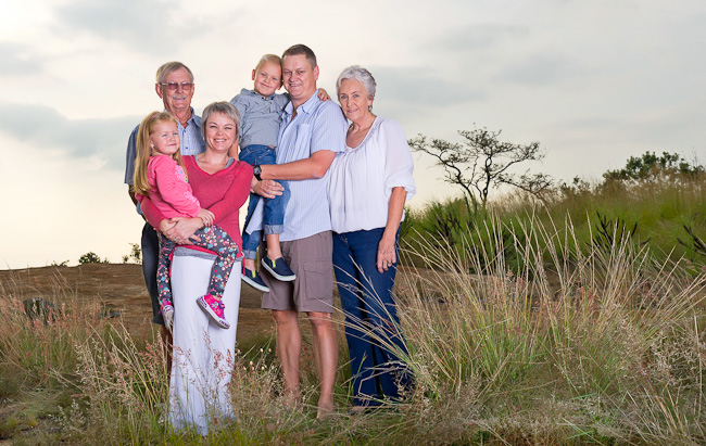 Family Photography on location in Nelspruit